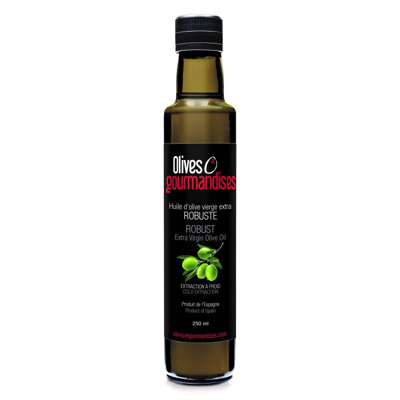 huile d'olive vierge extra robuste