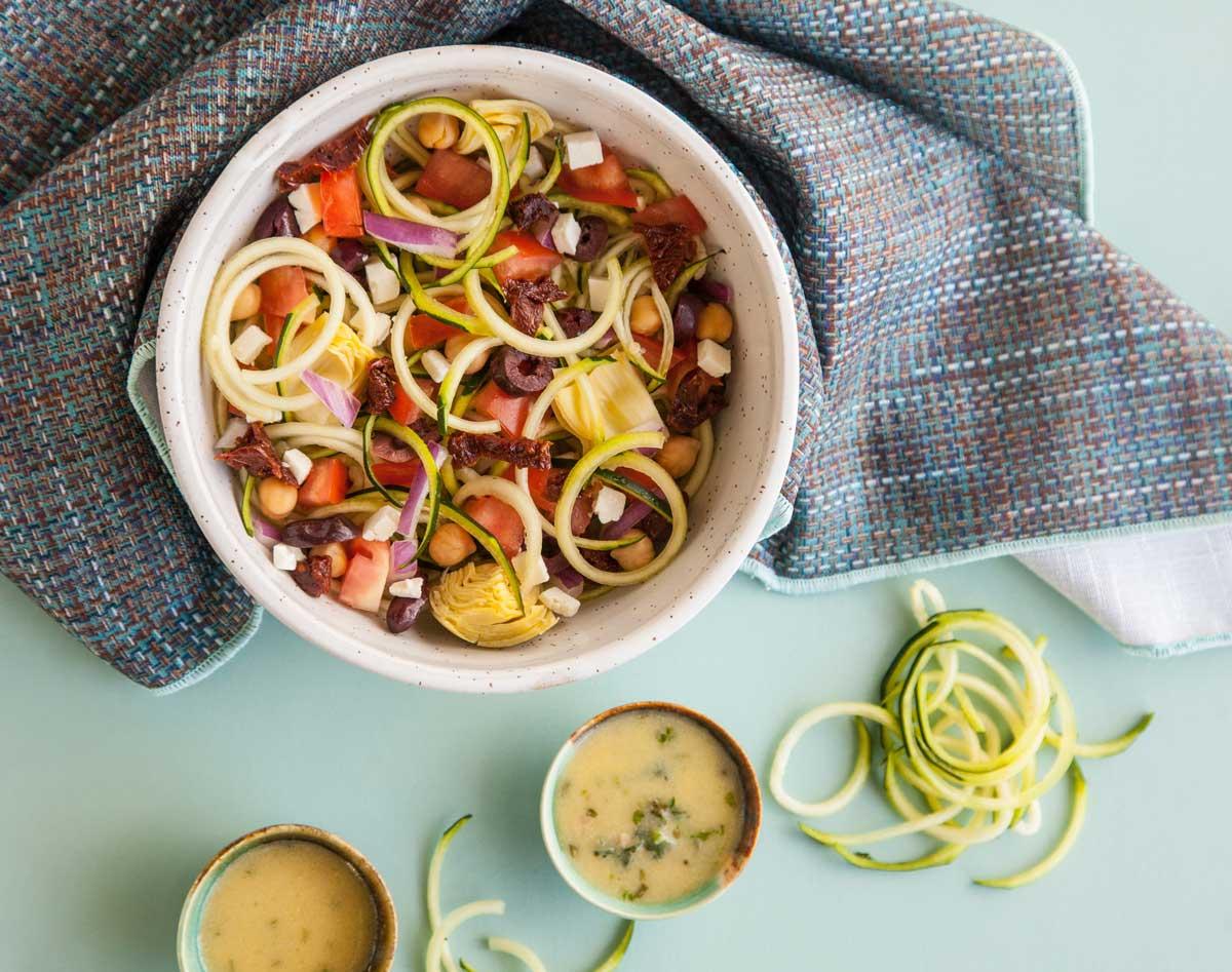 image salade de courgettes