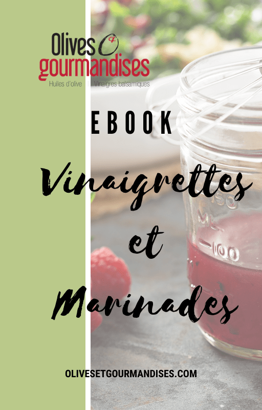 Page couverture ebook vinaigrettes et marinades